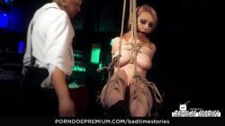 BADTIME STORIES – Submissive German blonde gets tortured in hardcore BDSM porn