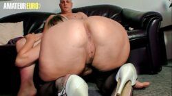 AMATEUR EURO – German BBW Oda Amelie Gets Picked Up And Fucked By Naughty Guy