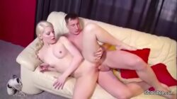 Real First Time Porn Casting for German Blond Teen