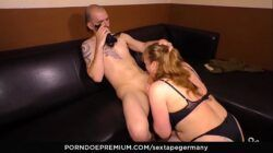SEXTAPE GERMANY – German newbie couple films their first sex tape