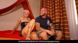 SEXTAPE GERMANY – Tattooed amateur German couple bangs in amateur sex tape
