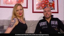 SEXTAPE GERMANY – A reality porn tape from German blonde fucking her boyfriend