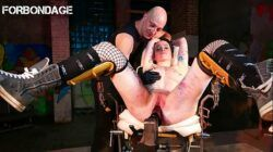 FORBONDAGE – Submissive German Babe BDSM Banged By A Fucking Machine