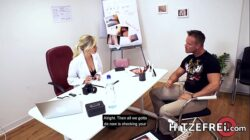 HITZEFREI Doctor Gabi Gold gets fucked by her patient