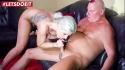 LETSDOEIT – German Teen Makes Her First Sex Tape With Her Step Dad